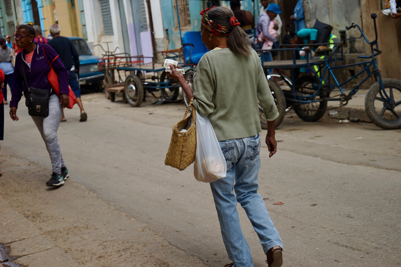 Calle San Rafael. Centro Habana.