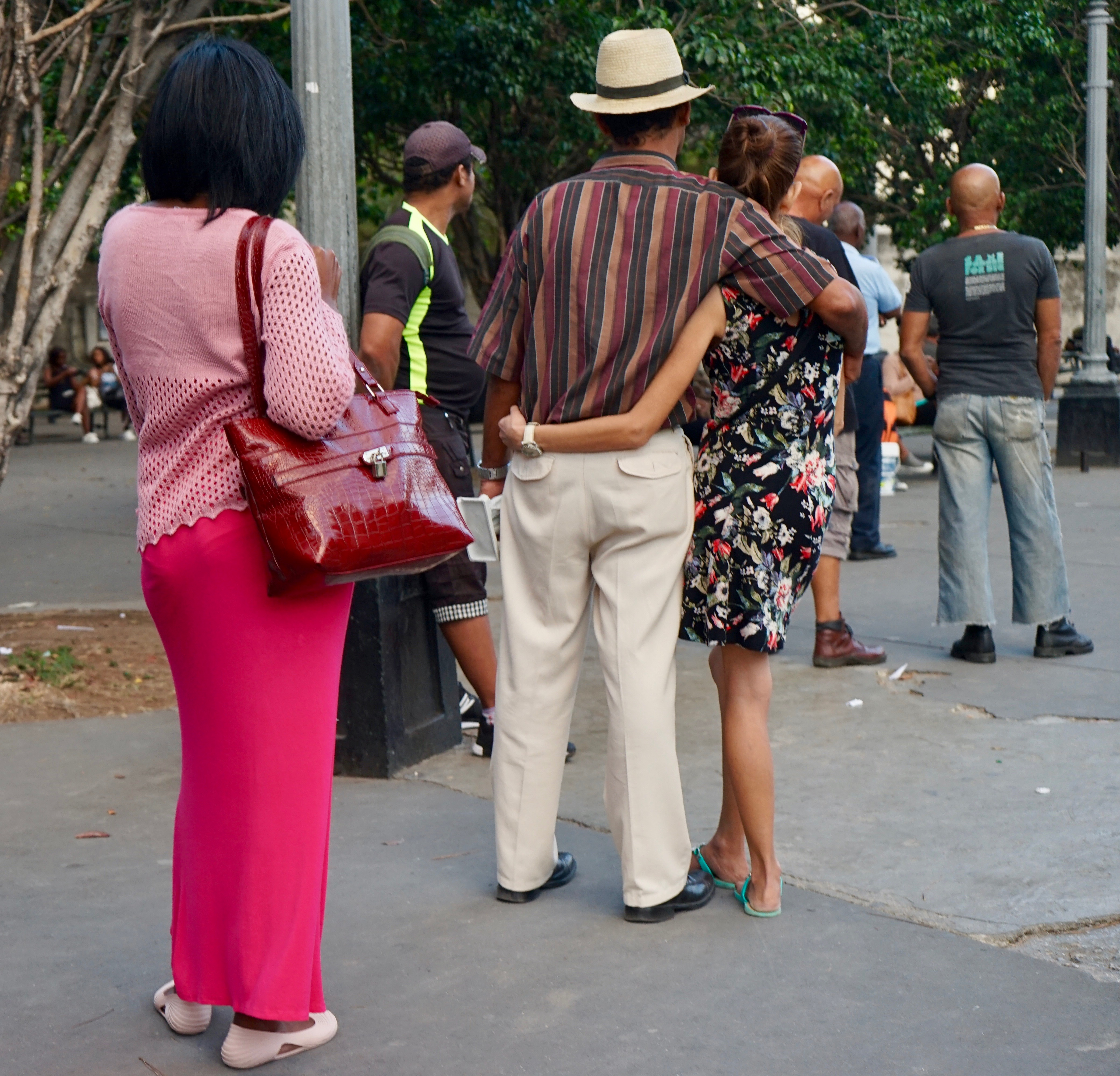 Placita de la calle L. La Habana.
