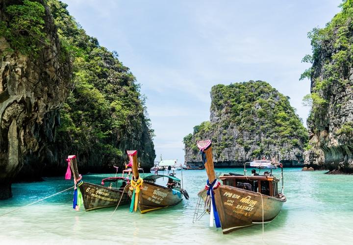 Embarcaciones tradicionales tailandesas