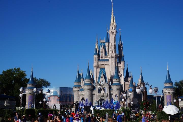 Uno de los lugares más conocidos de Disney, el Castillo Mágico