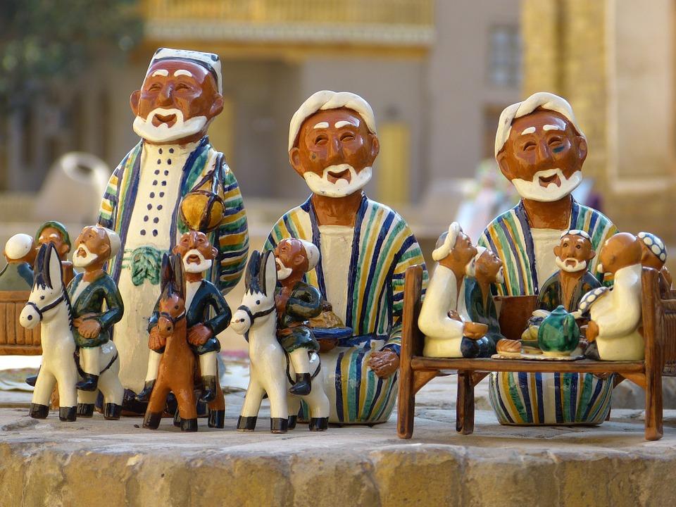 Uzbekistan. clay-figure-198644_960_720